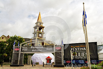 Tremblant Blues Festival Editorial Stock Image