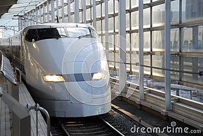 Tren de punto negro
