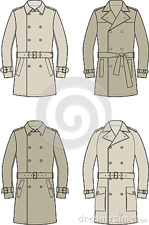 Free Trench Coat Stock Images - 103178114
