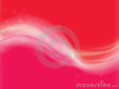 Trendy abstract design with light waves
