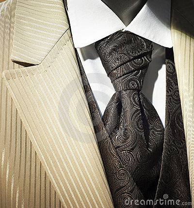 Free Trendy Cream Colored Wedding Tuxedo Royalty Free Stock Photos - 17853588