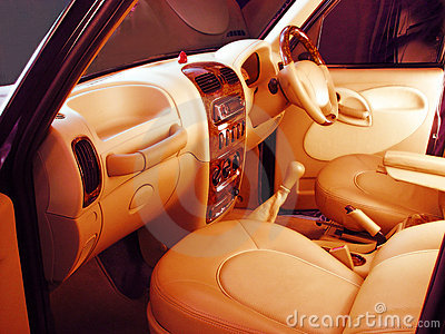 Trendy custom designed  auto interiors