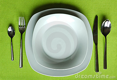 Trendy eating set
