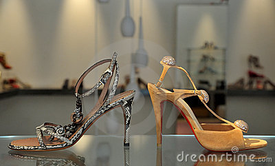 Trendy female sandals