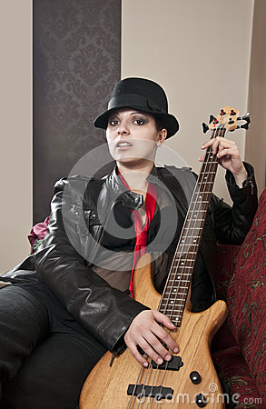 Trendy musician