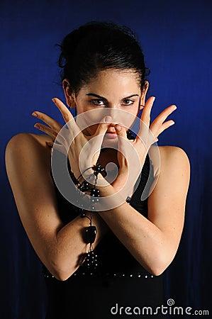 Free Trendy Woman Posing Stock Photos - 6569883