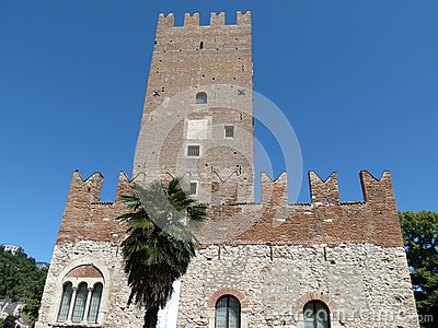 Trento - medieval tower