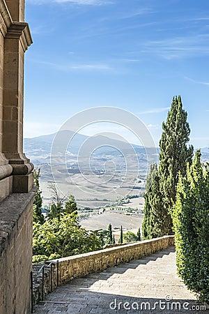 Toskana   treppe lizenzfreie stockfotografie   bild: 30208097