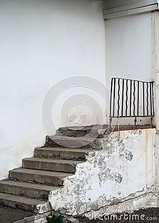 Treppen zu nirgendwo