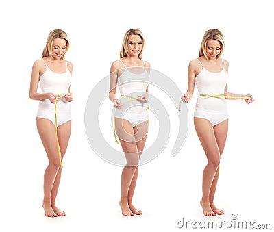 Tres mujeres cauc sicas jovenes en la ropa interior blanca for Tias buenas en ropa interior