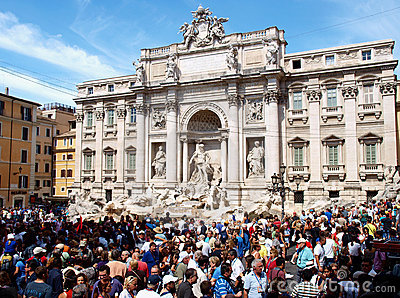 Trevi fountain Editorial Image
