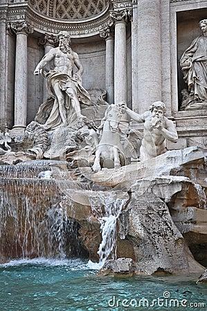 Free Trevi Fountain Stock Image - 36537771