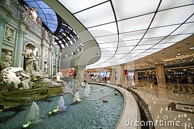 Trevi fountain replica Editorial Photography
