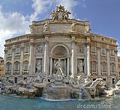 Trevi Fountain In Rome Royalty Free Stock Image - Image: 2315576