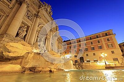 Trevi Fountain at Sunrise