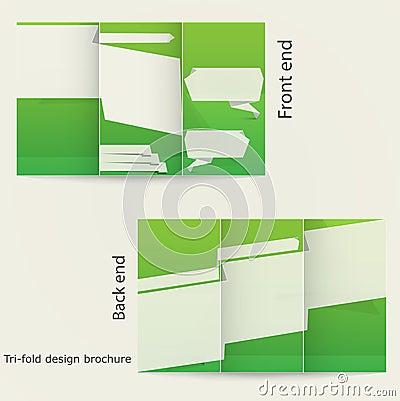 Tri fold brochure design royalty free stock photos for Brochure 3 fold template