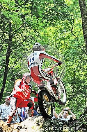 Trial World Championship 2008 - Tolmezzo Editorial Photo