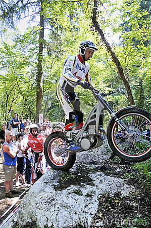 Trial World Championship 2008 - Tolmezzo Editorial Photo