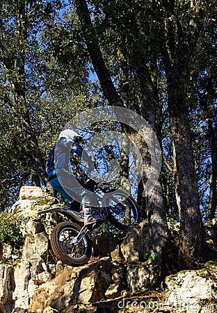 Trials Motor Bike Rider