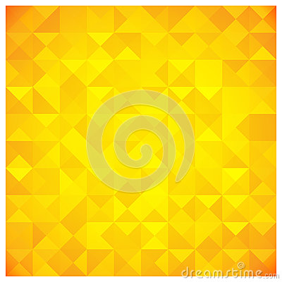 Free Triangle And Square Yellow Abstract Pattern Royalty Free Stock Images - 29500119