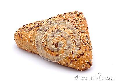 Triangle bread