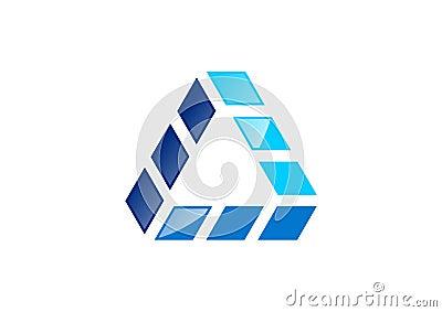 Triangle b timent logo maison architecture for Conception d architecture pour la maison