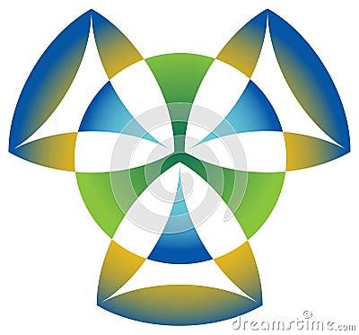 Triangle emblem