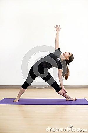 Triangle Yoga Pose