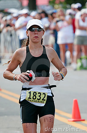 Free Triathlete Runner Royalty Free Stock Photo - 594335