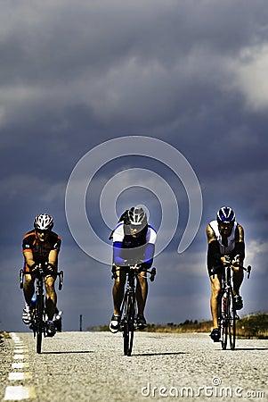 Triathlon Editorial Stock Photo