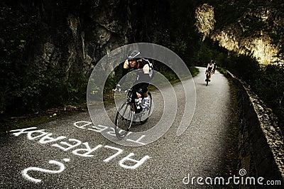 Triathlon Редакционное Фотография