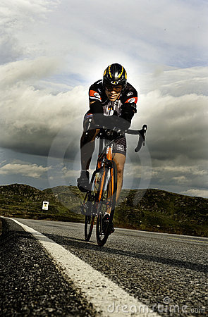 Triathlon Foto Editorial