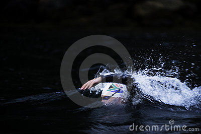 Triathlon Editorial Stock Photo