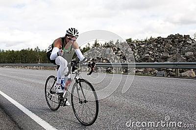 Triathlon Editorial Stock Image