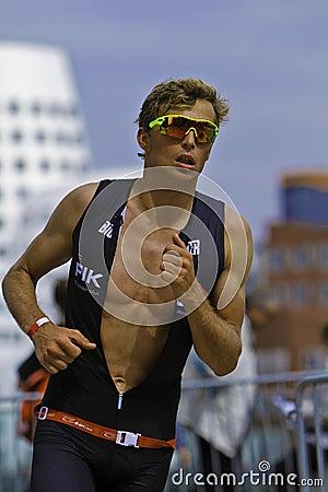 Triathlon Redaktionelles Bild