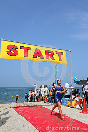 Triathlon Immagine Editoriale
