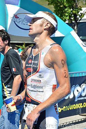 Triathlon Alpe d Huez 2009 Editorial Image