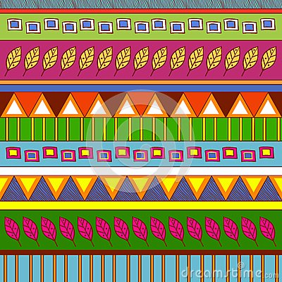 Tribal abstract pattern