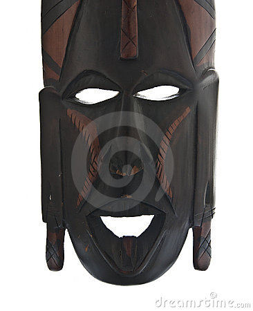 Tribal-african mask