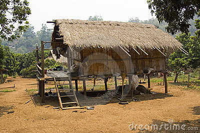 Tribal Bamboo Hut