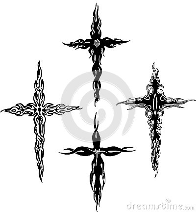 Tribal crosses