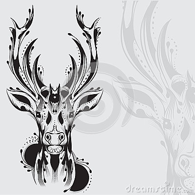Elk Head Tattoo Images & Pictures - Becuo