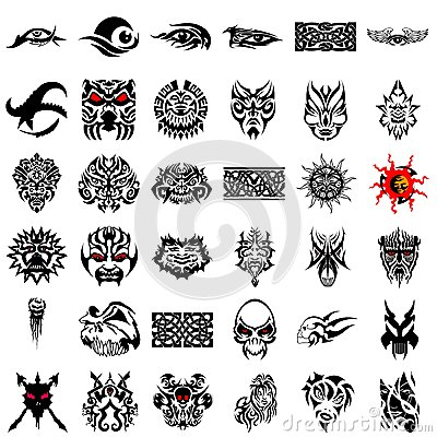 Tribal Design Collection #07