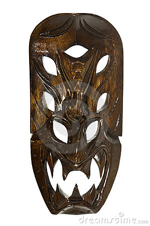 Tribal Mask from The Philippines