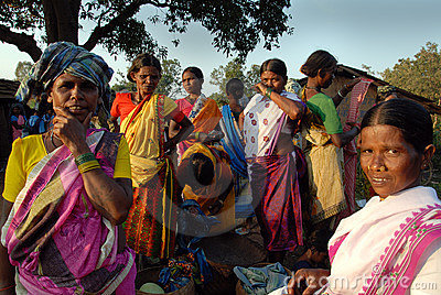 Tribal People in India Editorial Stock Photo