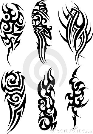 Tribal Tattoos on Photoshop 7 And Polynesian Tribal Tattoo Designs Wolf