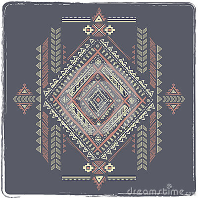 Tribal vintage ethnic background