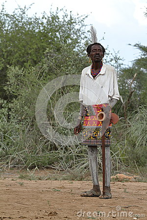 Free Tribe Of Hamar In The Omo Valley Of Ethiopia Stock Photos - 93702223
