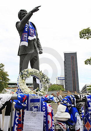 Tributes to Bobby Robson Editorial Stock Photo