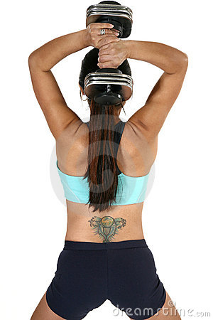 Tricep Dumbbell Extension